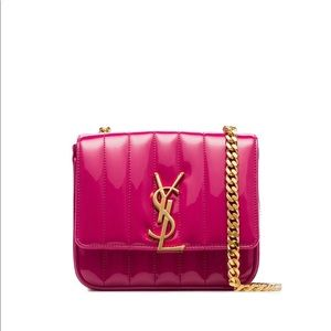 New authentic Saint Laurent Small Vicky bag